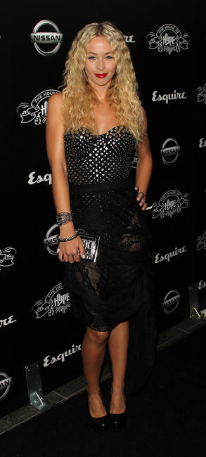 Emily Montague at the after party of 2011 MTV Video Music Awards in California.