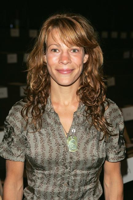 Lili Taylor at the Olympus Fashion Week.