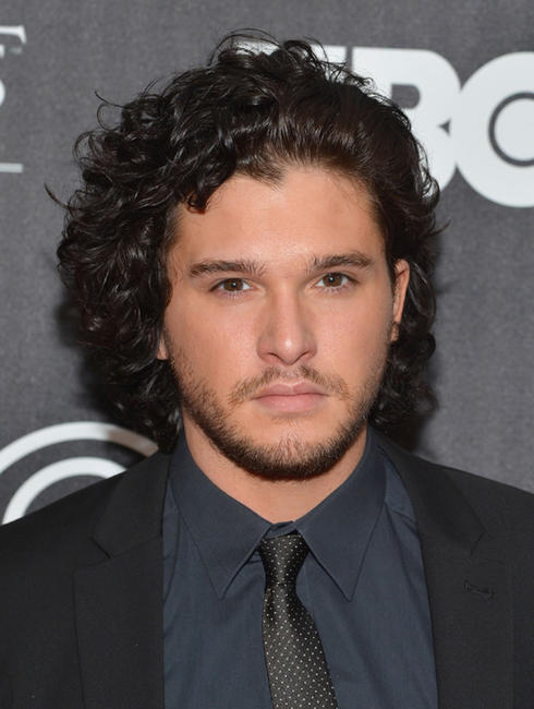 Kit Harington at the Exhibition New York opening of