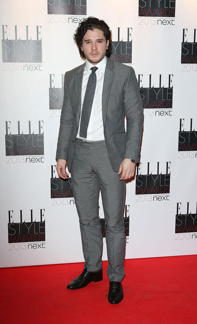 Kit Harington at the Elle Style Awards in London.
