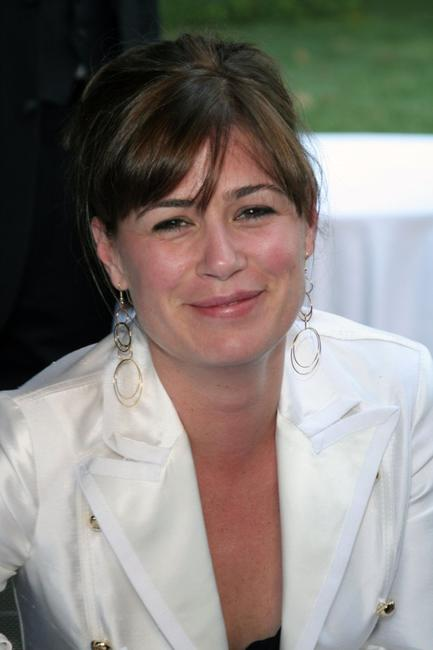 Maura Tierney at the Creative Coalition and The Atlantic Media Company reception.
