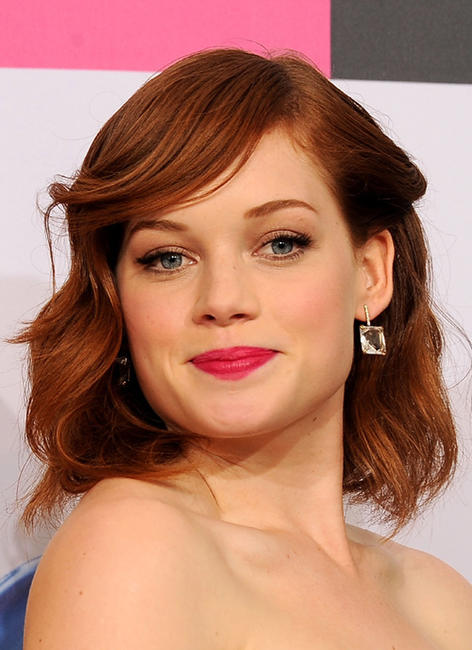 Jane Levy at the 2011 American Music Awards in California.