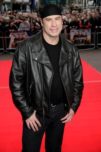 John Travolta at the London premiere of