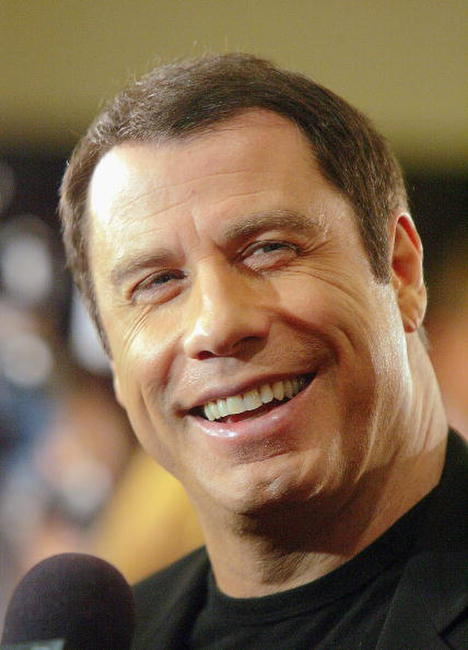 John Travolta at the L.A. premiere of
