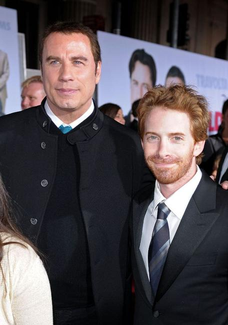 John Travolta and Seth Green at the California premiere of