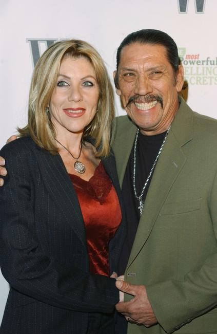 Danny Trejo and Debbie at the W Magazine party.