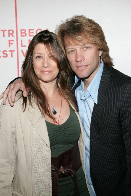 Jon Bon Jovi and wife Dorothea Hurley at the Tribeca Film Festival premiere of