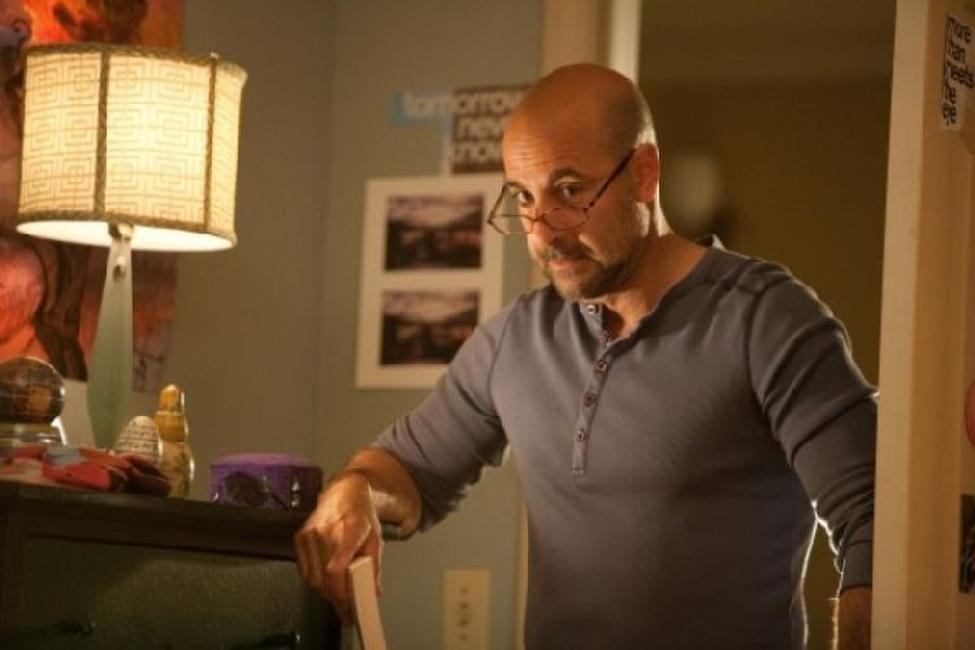 Stanley Tucci as Olive's father Dill in