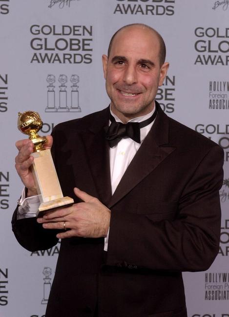Stanley Tucci at the 59th Annual Golden Globe Awards.