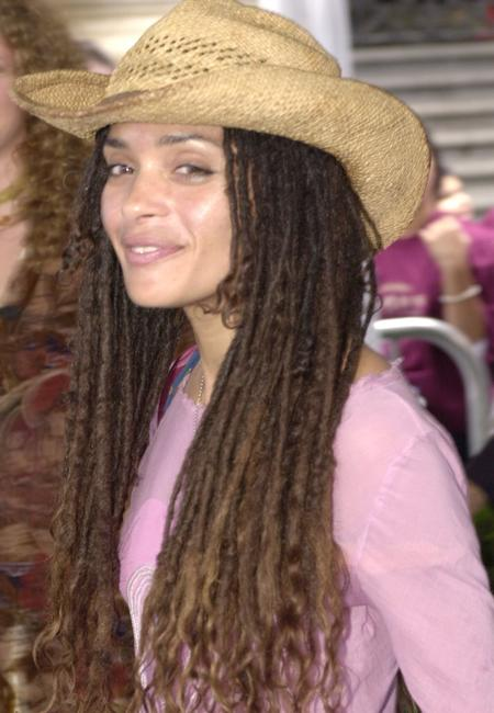 Lisa Bonet at the Hollywood premiere of