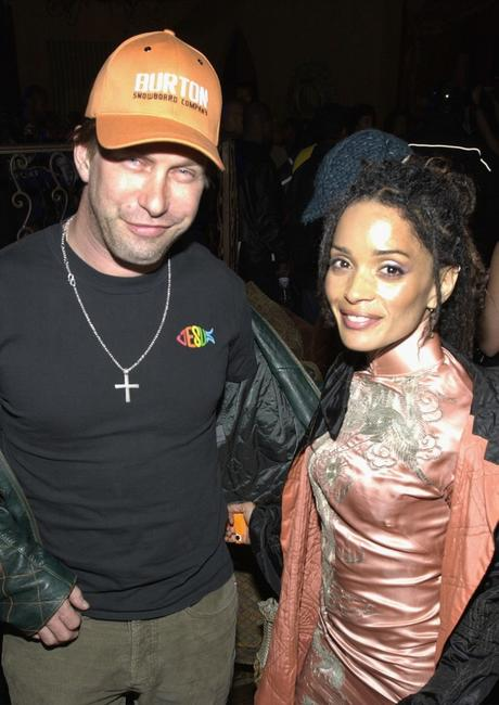 Stephen Baldwin and Lisa Bonet at the after party of the premiere of