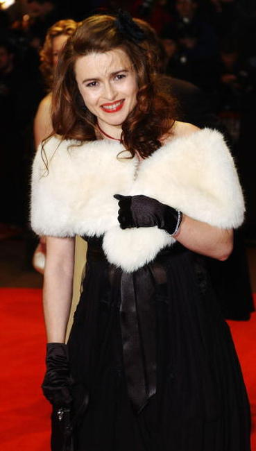 Helena Bonham Carter at The Orange British Academy Film Awards in London.