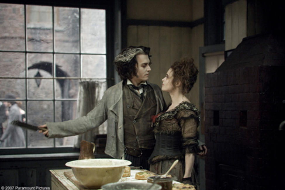 Johnny Depp and Helena Bonham Carter in