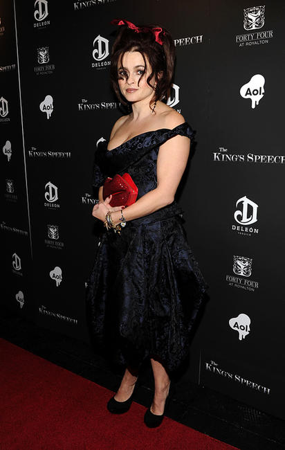 Helena Bonham Carter at the New York premiere of