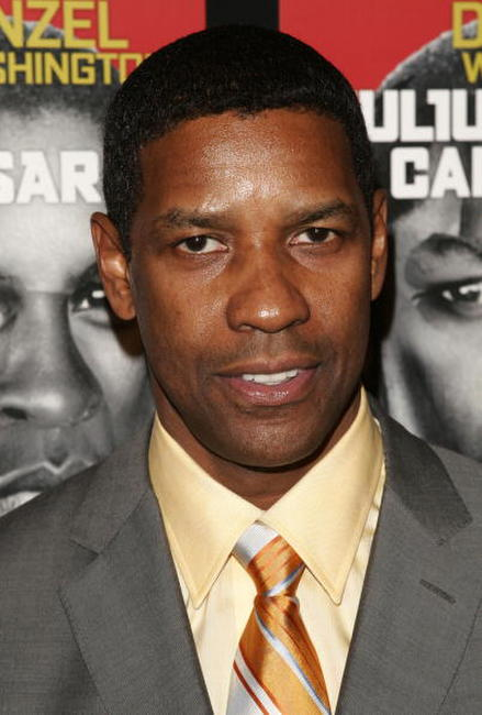 Denzel Washington at the after party for the play opening of 'Julius Caesar' in New York City.