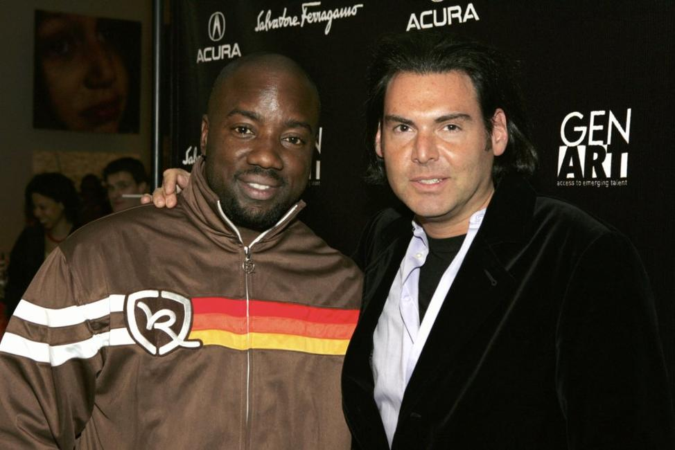 Malik Yoba and Ian Gerard at the Gen Art Eleventh Annual Film Festival Launch Party.
