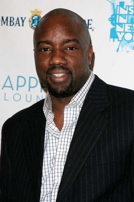 Malik Yoba at the opening night of Inspired by Film.