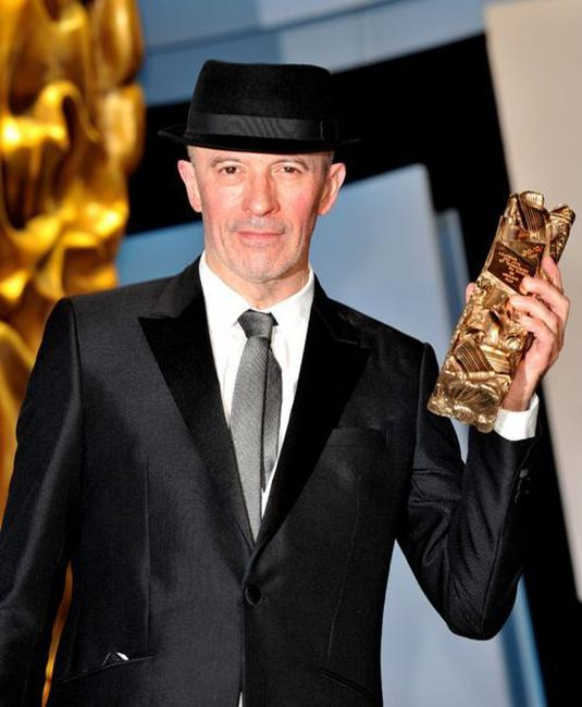 Jacques Audiard at the 35th Cesar Film Awards 2010.