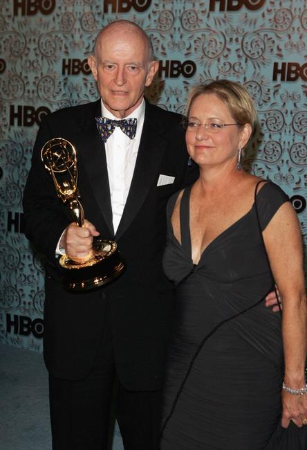Peter Boyle and wife Loraine Alterman at the HBO Emmy after party held at The Plaza at the Pacific Design Center.