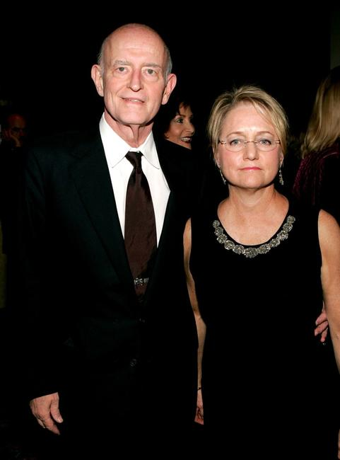 Peter Boyle and wife Loraine Alterman at the play opening night of
