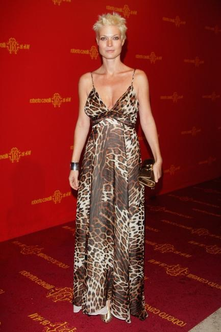 Jane Alexander at the Roberto Cavalli at H&M collection launch party.
