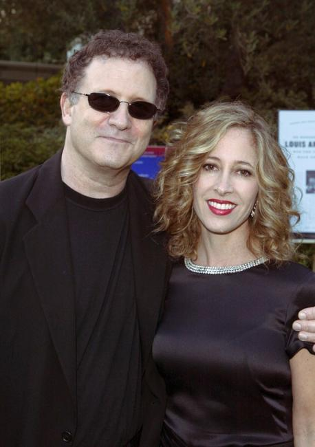 Albert Brooks and Kimberly Brooks at Bel Air for the 7th Annual Express Yourself chairty event.
