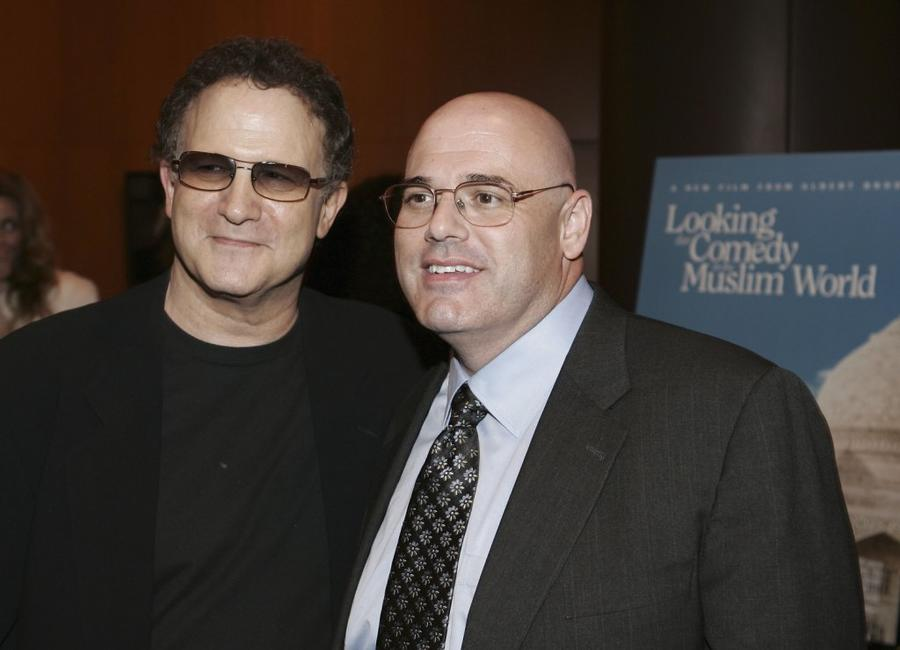 Albert Brooks and Steve Freidlander at the afterparty for the Los Angeles premiere of