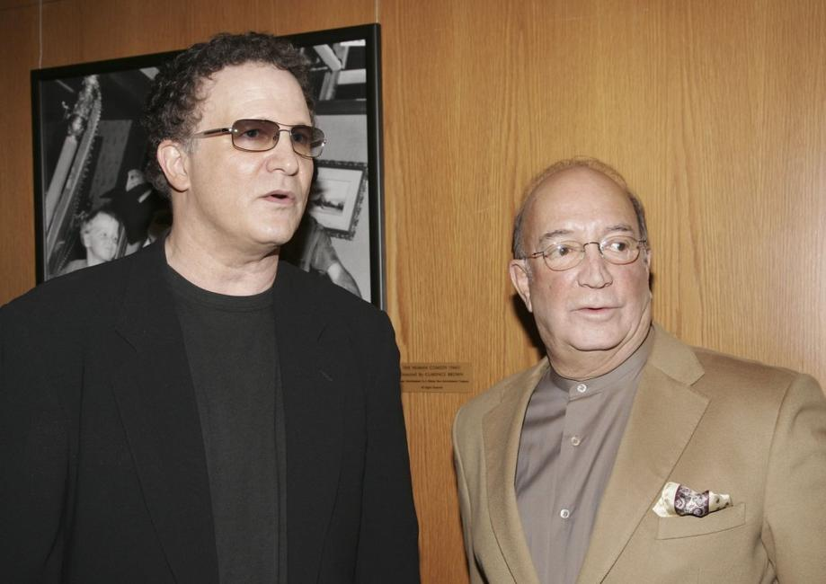 Albert Brooks and Herb Nanas at the afterparty for the Los Angeles premiere of the film