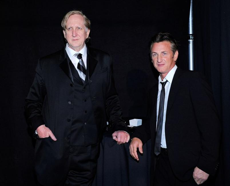 T-Bone Burnett and Sean Penn at the 82nd Annual Academy Awards.