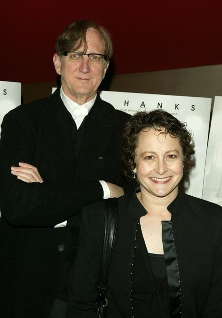 T-Bone Burnett and Nina Jacobsen at the private screening of