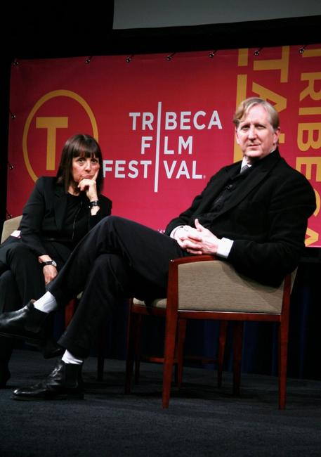 Lisa Robinson and T-Bone Burnett at the 5th Annual Tribeca Film Festival.