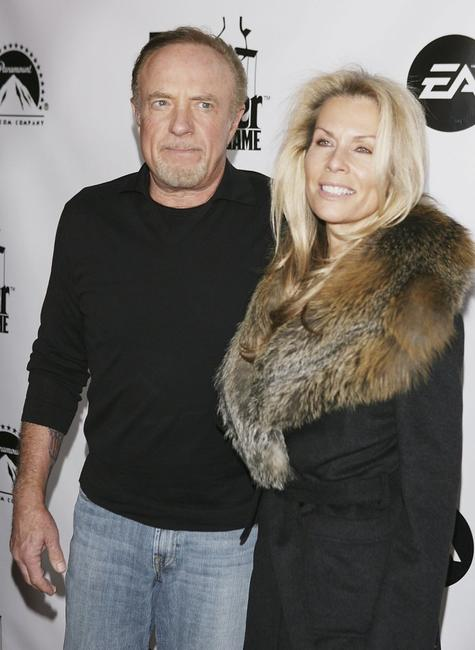 James Caan and Linda at Privilege for the world premiere launch of EA and Paramount Pictures