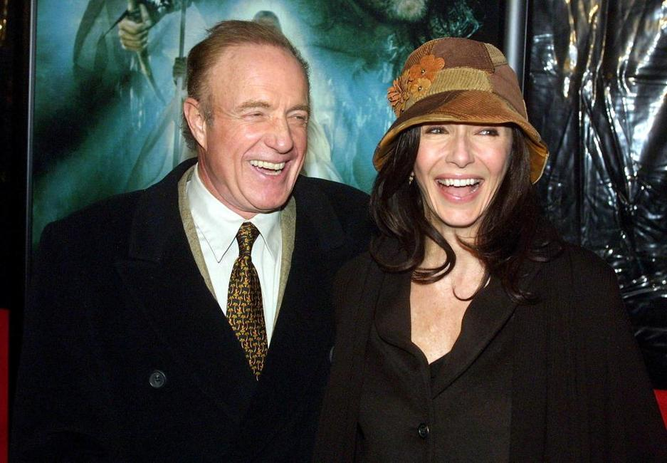 James Caan and Mary Steenburgen at the premiere of