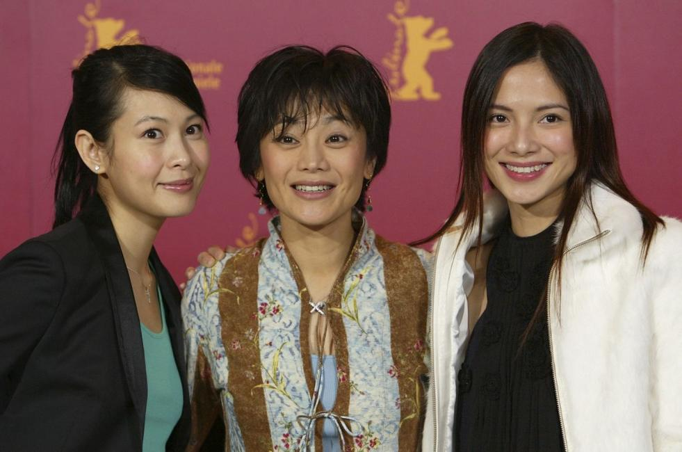 Rene Liu, Sylvia Chang and Lee Sinje at the photocall of