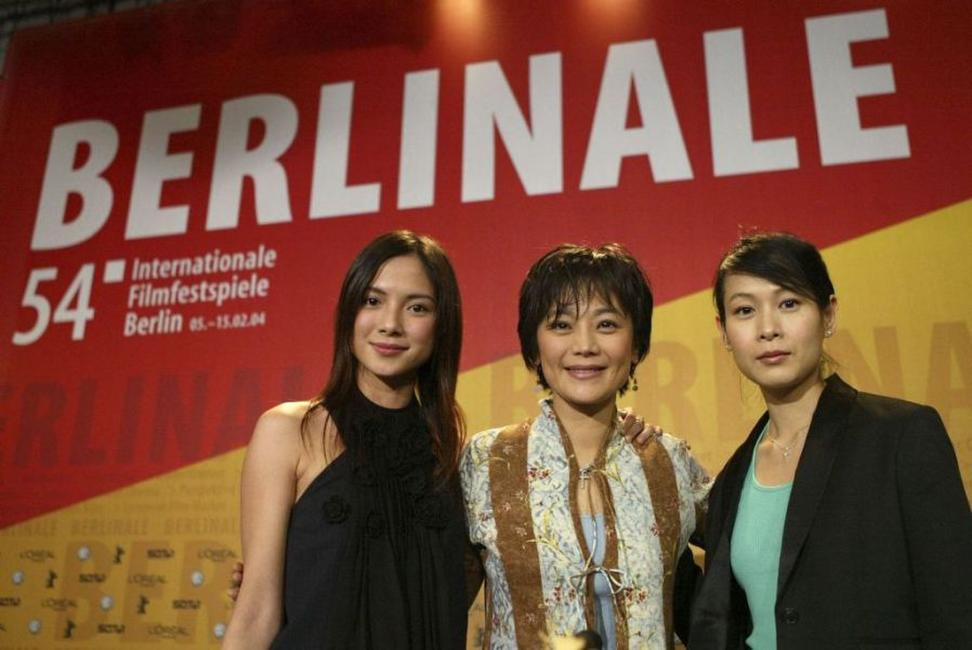 Rene Liu, Sylvia Chang and Lee Sinje at the news conference of