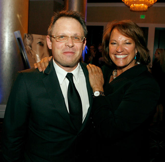 Bill Condon and editor Virginia Katz at the 57th Annual ACE Eddie Awards in California.