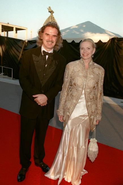 Billy Connolly and his wife at the opening night of the Los Angeles Opera,