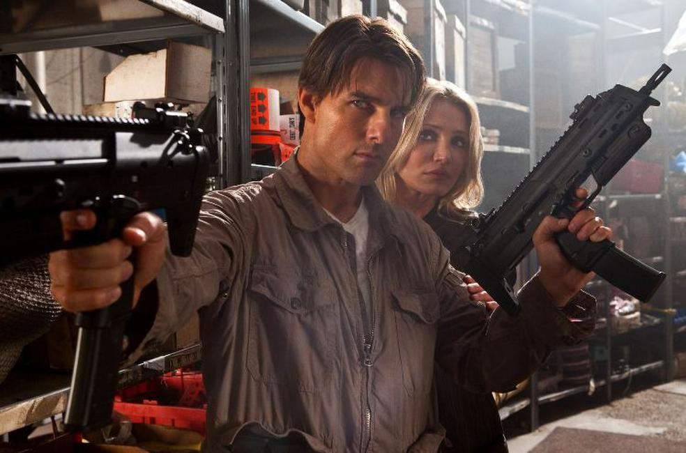 Tom Cruise and Cameron Diaz in