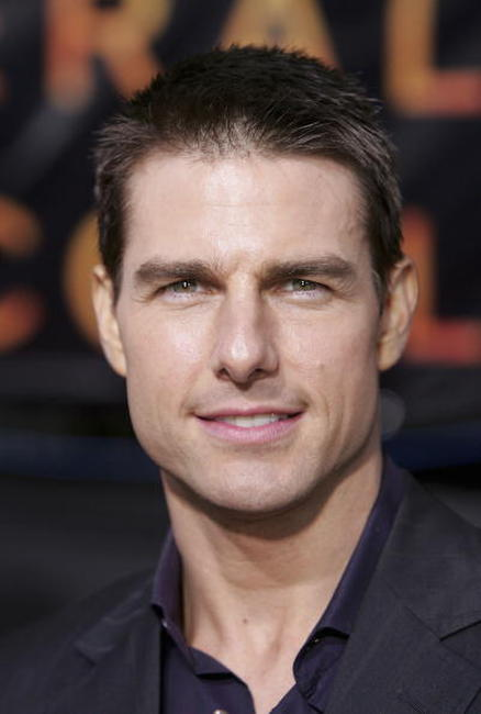 "Tom Cruise at the World Premiere of ""Collateral"" in Los Angeles."