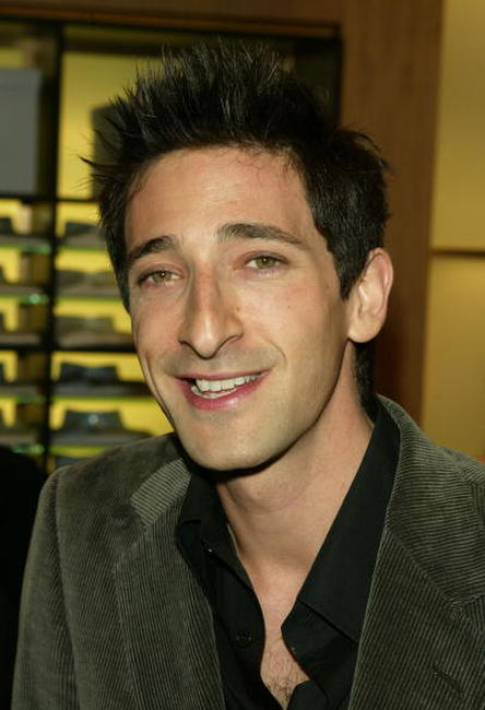 Adrien Brody at the Ermenegildo Zegna Flagship store opening in New York City.