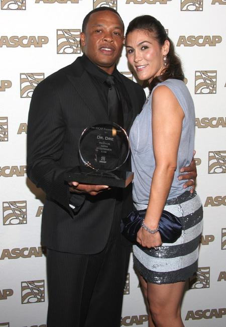 Dr. Dre and Nicole at the 23rd Annual ASCAP Rhythm and Soul Music Awards.