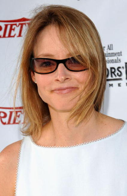 Jodie Foster at the 2005 Tony Awards.