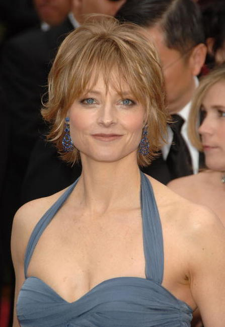 Jodie Foster at the 79th Annual Academy Awards.