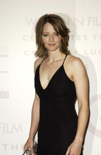 Jodie Foster at the Crystal and Lucy Awards.