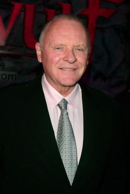 Actor Anthony Hopkins at the L.A. premiere of