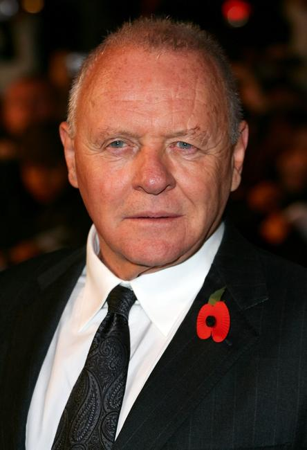 Anthony Hopkins at the London premiere of