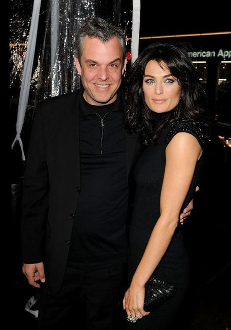 Danny Huston and Guest at the California premiere of