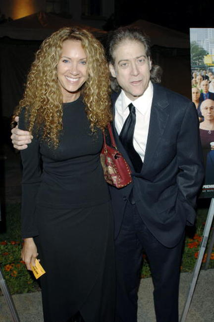 Richard Lewis and Guest at the Los Angeles premiere of