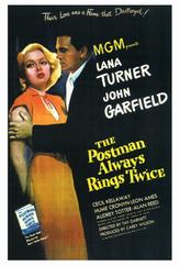 The Postman Always Rings Twice showtimes and tickets