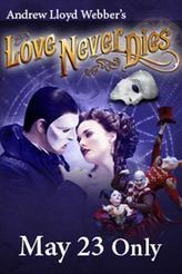 Phantom Week: Love Never Dies showtimes and tickets